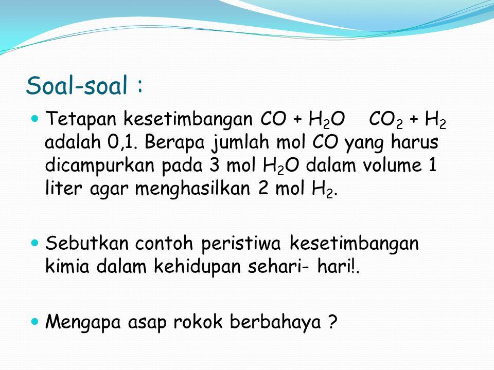 Soal-soal :