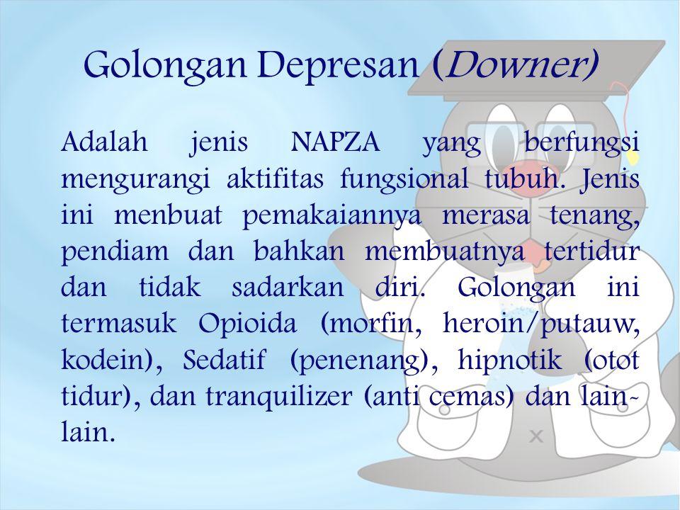 Golongan Depresan (Downer)