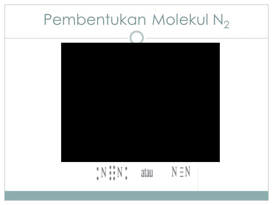 Pembentukan Molekul N2