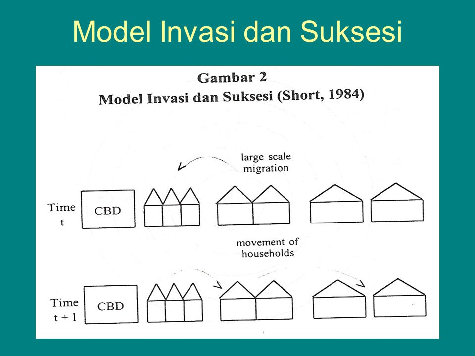 Model Invasi dan Suksesi