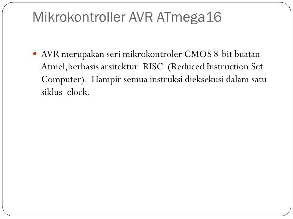 Mikrokontroller AVR ATmega16