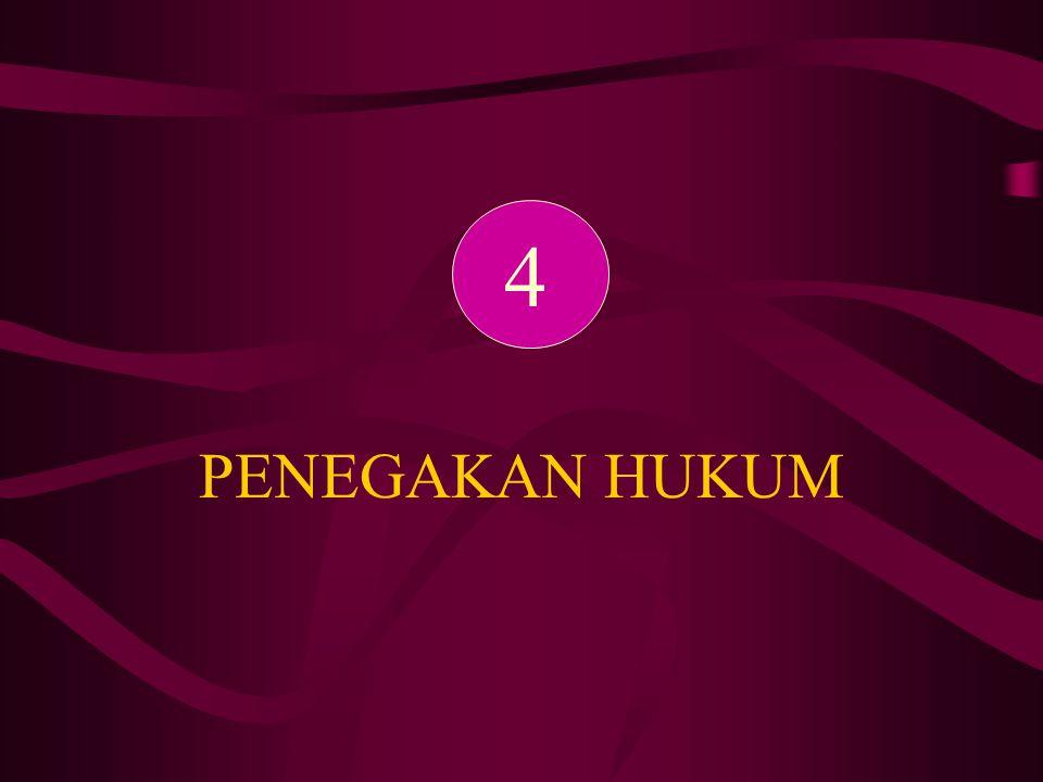 4 PENEGAKAN HUKUM