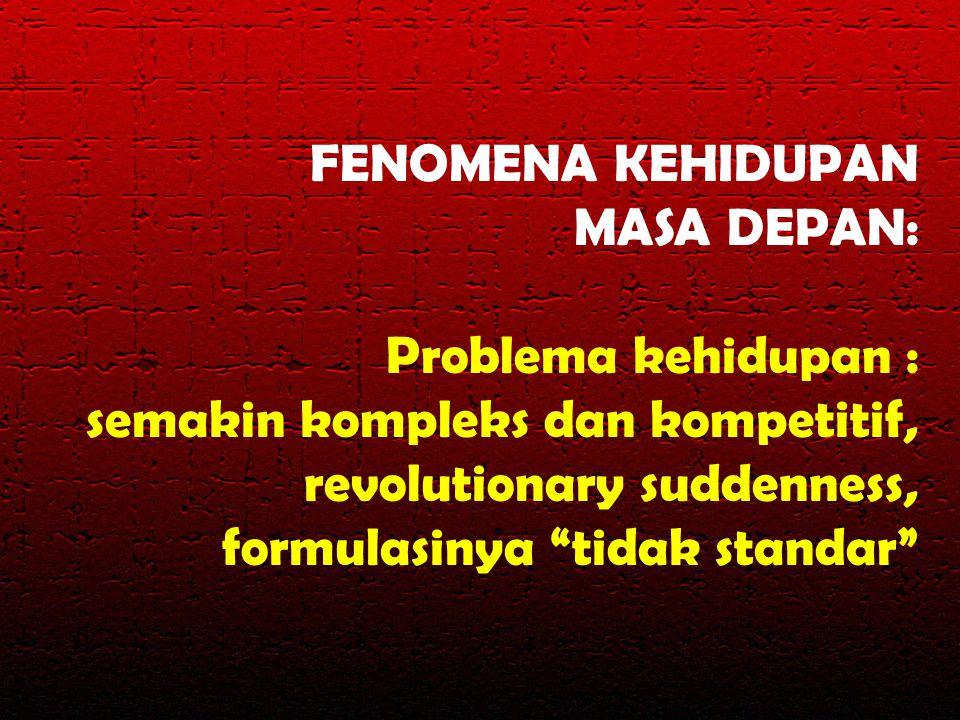 FENOMENA KEHIDUPAN MASA DEPAN: