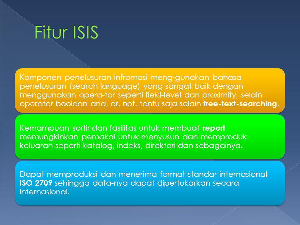 Fitur ISIS