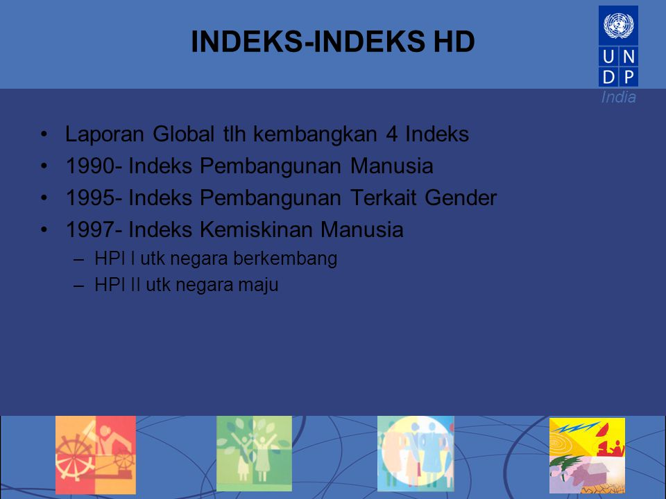 INDEKS-INDEKS HD Laporan Global tlh kembangkan 4 Indeks