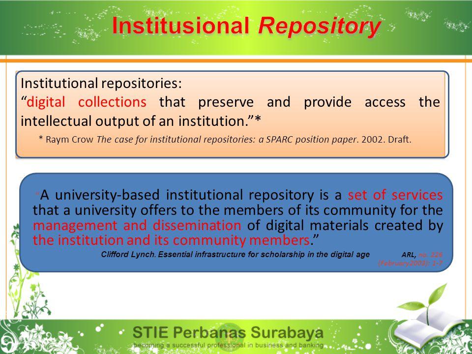 Institusional Repository