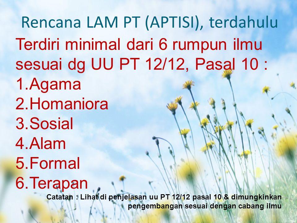 Rencana LAM PT (APTISI), terdahulu