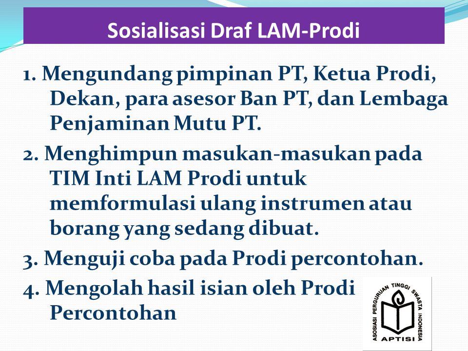 Sosialisasi Draf LAM-Prodi