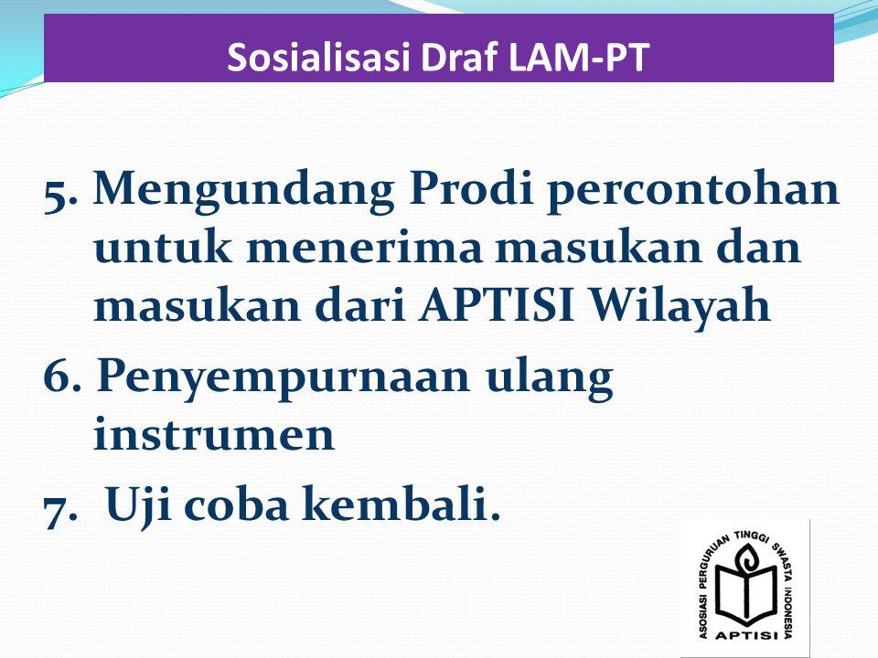 Sosialisasi Draf LAM-PT