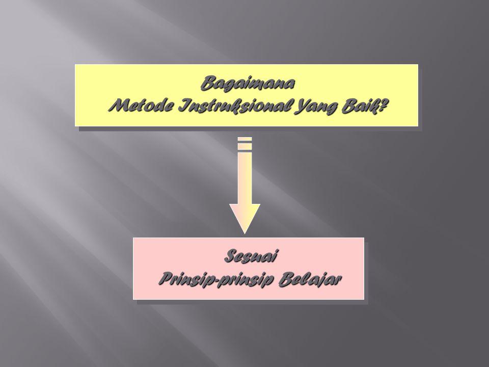 Bagaimana Metode Instruksional Yang Baik