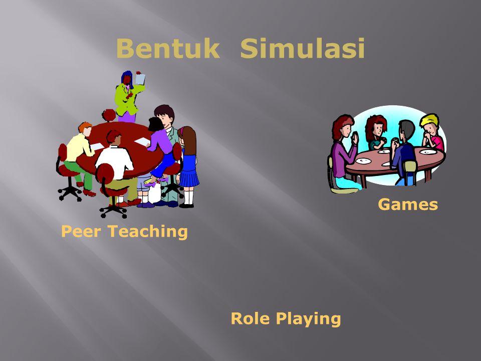 Bentuk Simulasi Games Peer Teaching Role Playing
