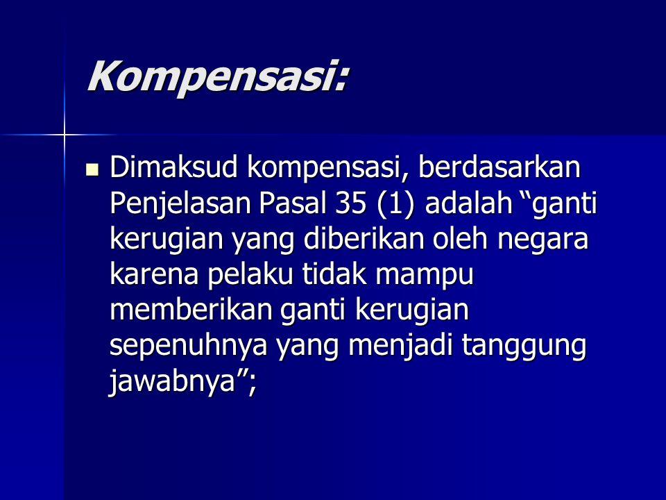 Kompensasi: