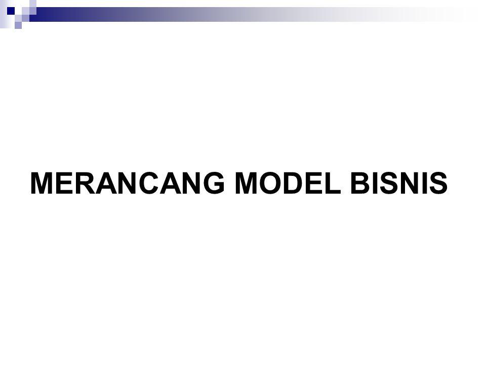 MERANCANG MODEL BISNIS