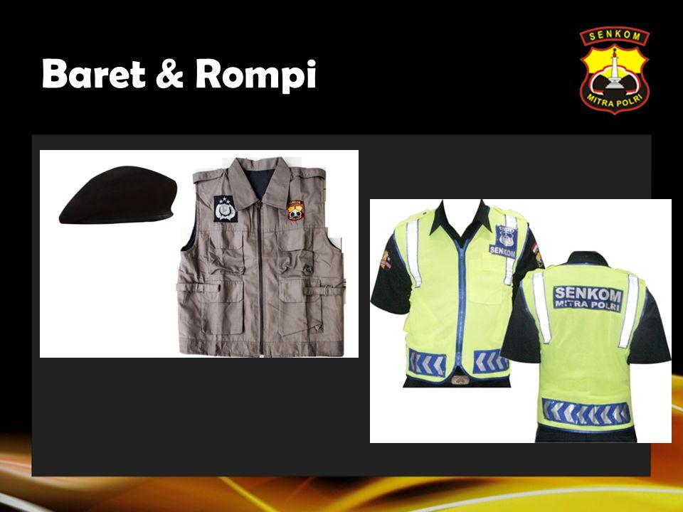 Baret & Rompi