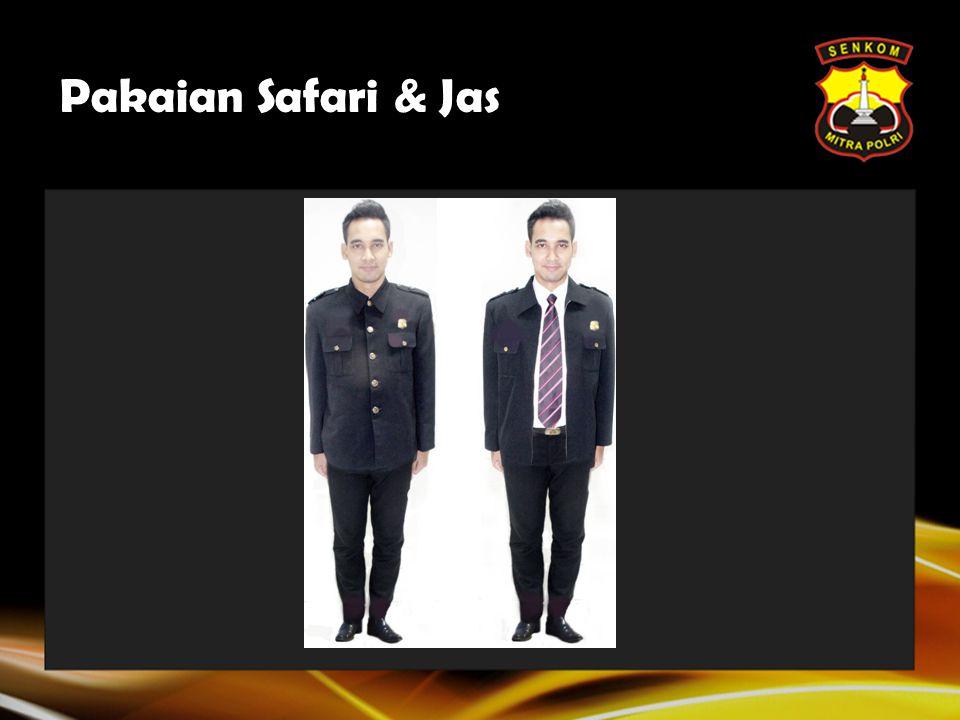 Pakaian Safari & Jas