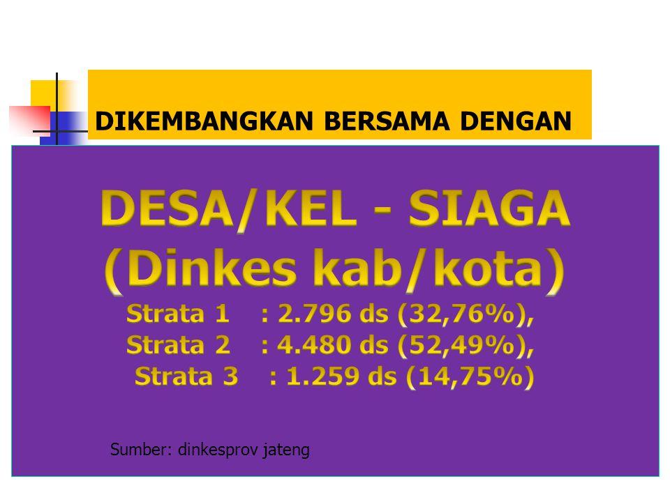 DESA/KEL - SIAGA (Dinkes kab/kota)