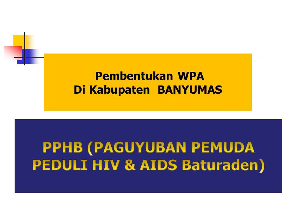 PPHB (PAGUYUBAN PEMUDA PEDULI HIV & AIDS Baturaden)