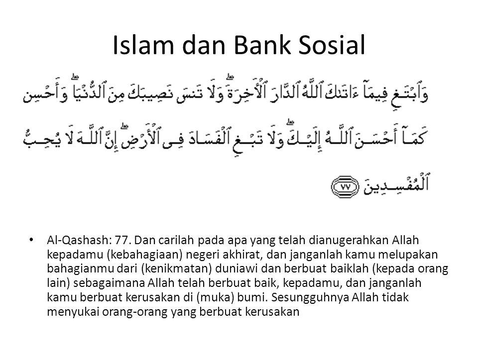 Islam dan Bank Sosial