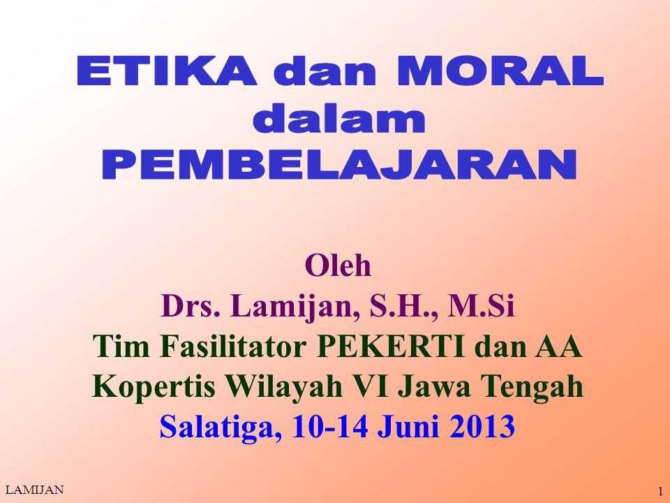 Tim Fasilitator PEKERTI dan AA Kopertis Wilayah VI Jawa Tengah