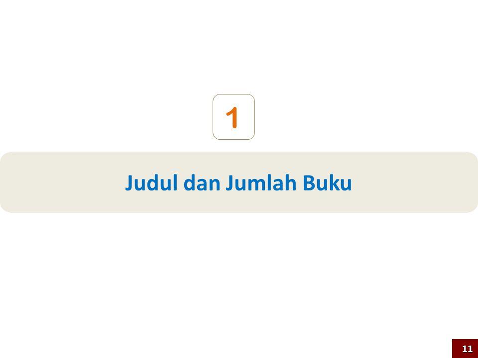 1 Judul dan Jumlah Buku 11