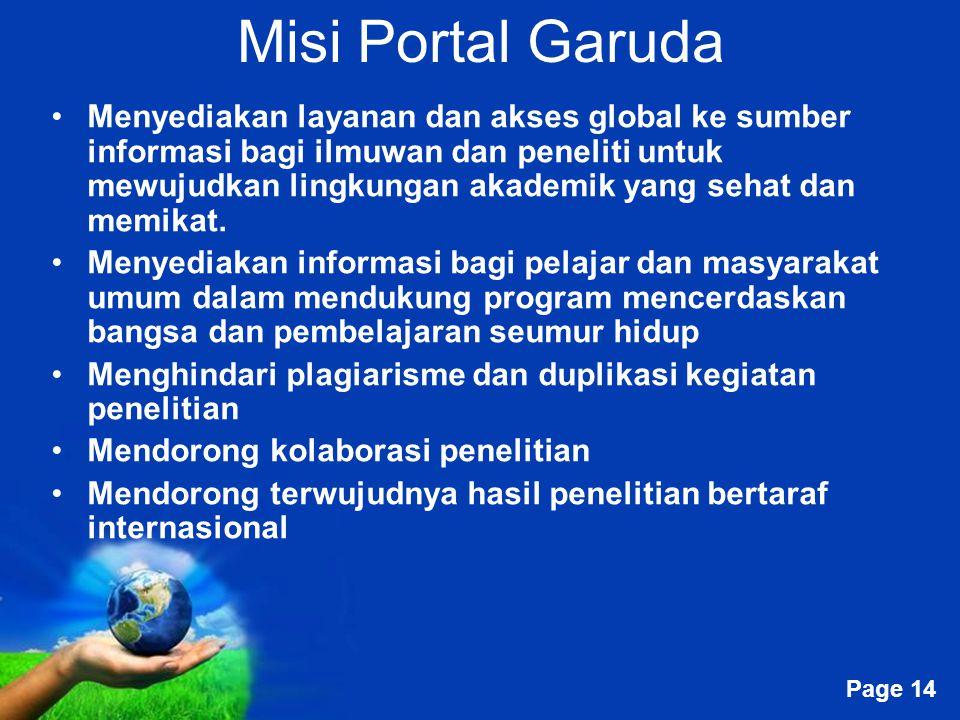 Misi Portal Garuda