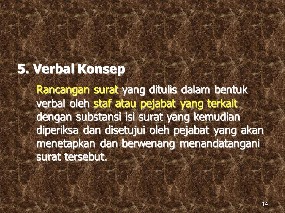 5. Verbal Konsep