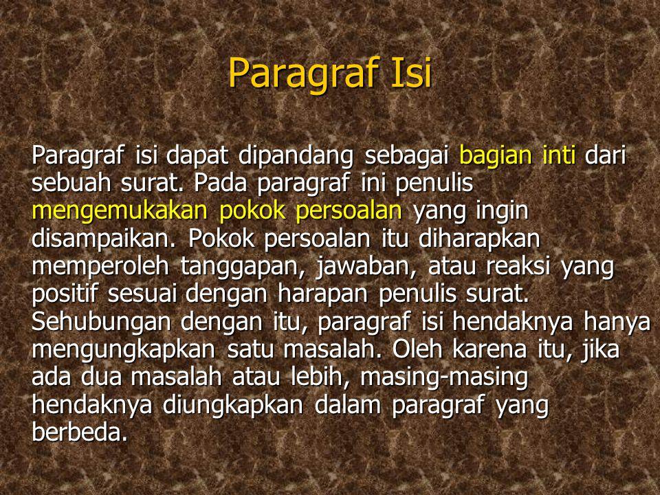 Paragraf Isi