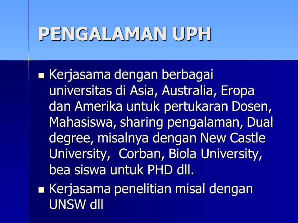PENGALAMAN UPH