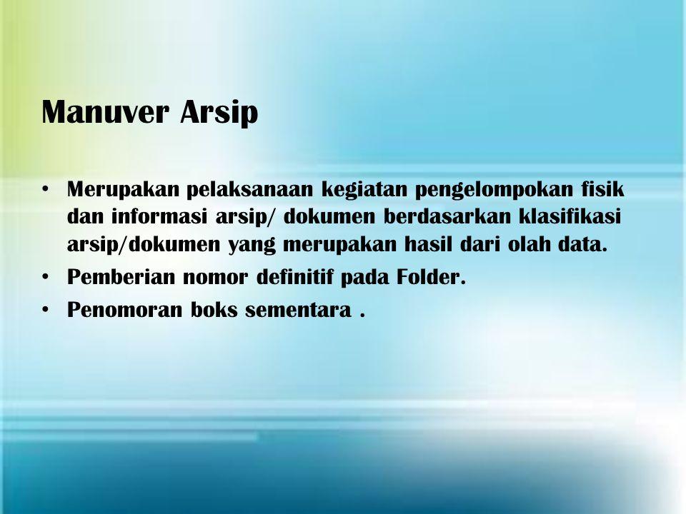 Manuver Arsip