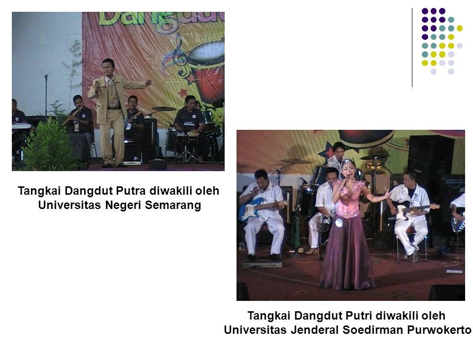 Tangkai Dangdut Putra diwakili oleh Universitas Negeri Semarang