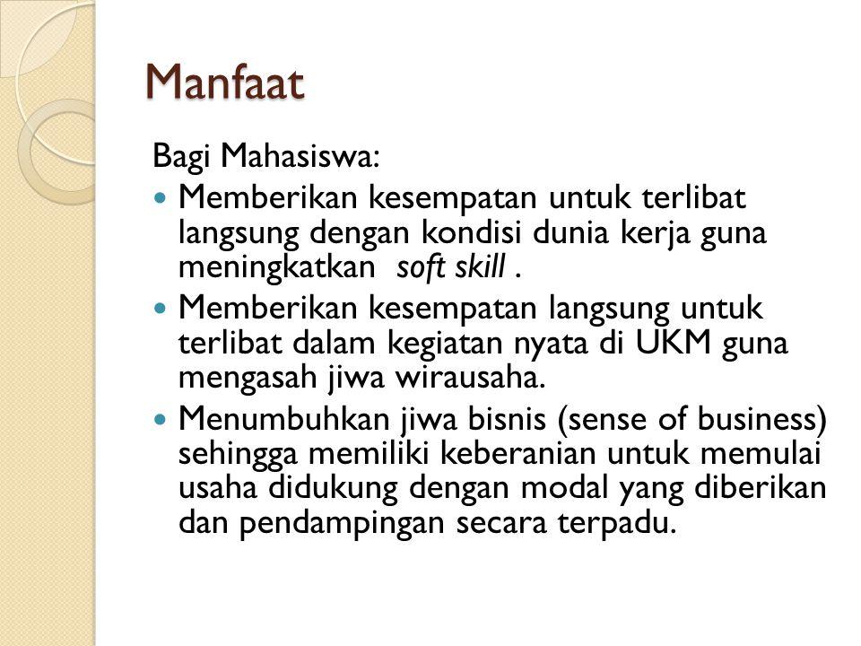 Manfaat Bagi Mahasiswa: