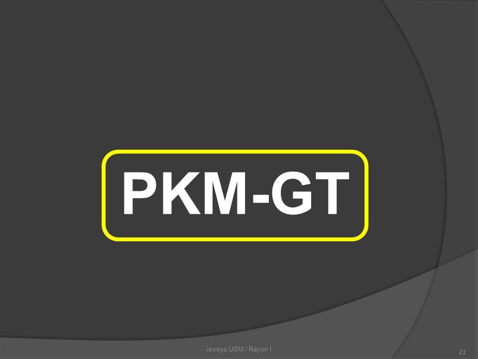 PKM-GT iswoyo USM / Rayon I