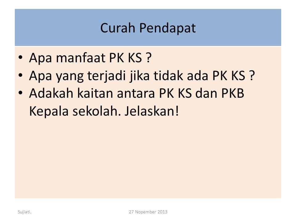 Apa yang terjadi jika tidak ada PK KS