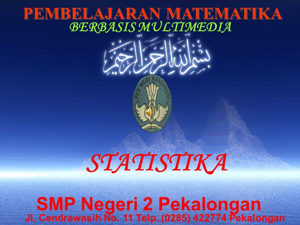 STATISTIKA SMP Negeri 2 Pekalongan PEMBELAJARAN MATEMATIKA