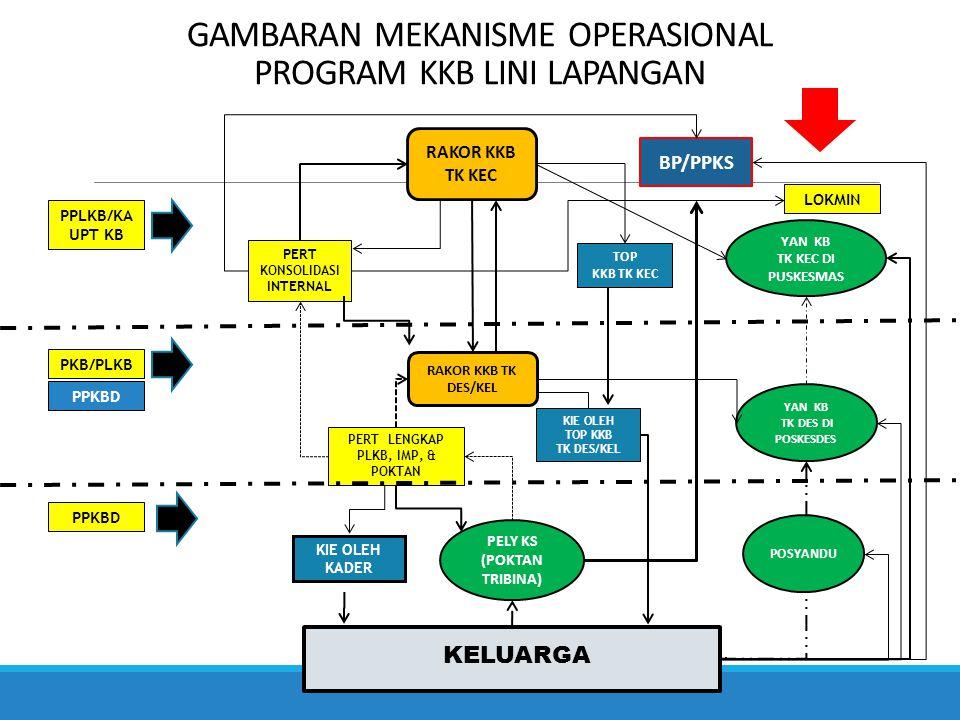 GAMBARAN MEKANISME OPERASIONAL PROGRAM KKB LINI LAPANGAN