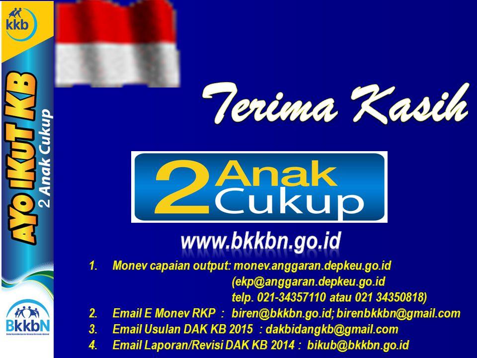 Terima Kasih www.bkkbn.go.id