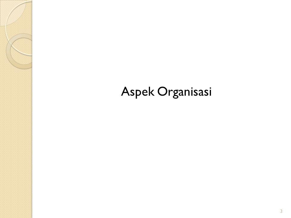 Aspek Organisasi