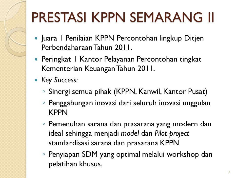 PRESTASI KPPN SEMARANG II