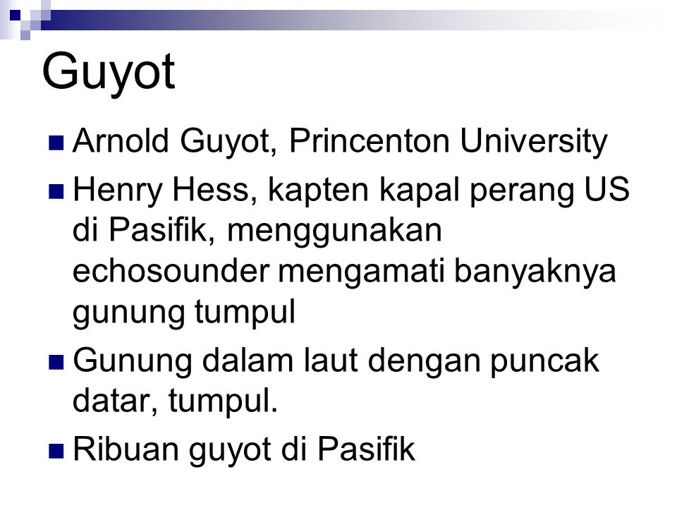 Guyot Arnold Guyot, Princenton University