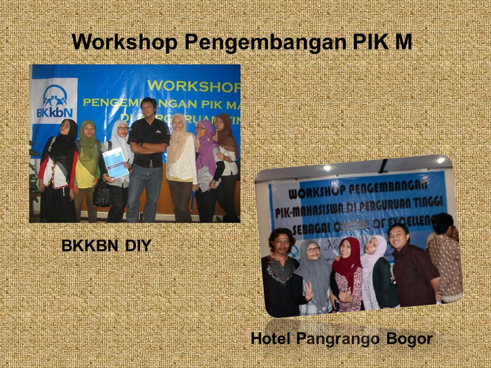 Workshop Pengembangan PIK M