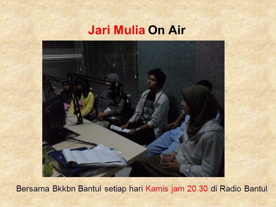 Bersama Bkkbn Bantul setiap hari Kamis jam 20.30 di Radio Bantul