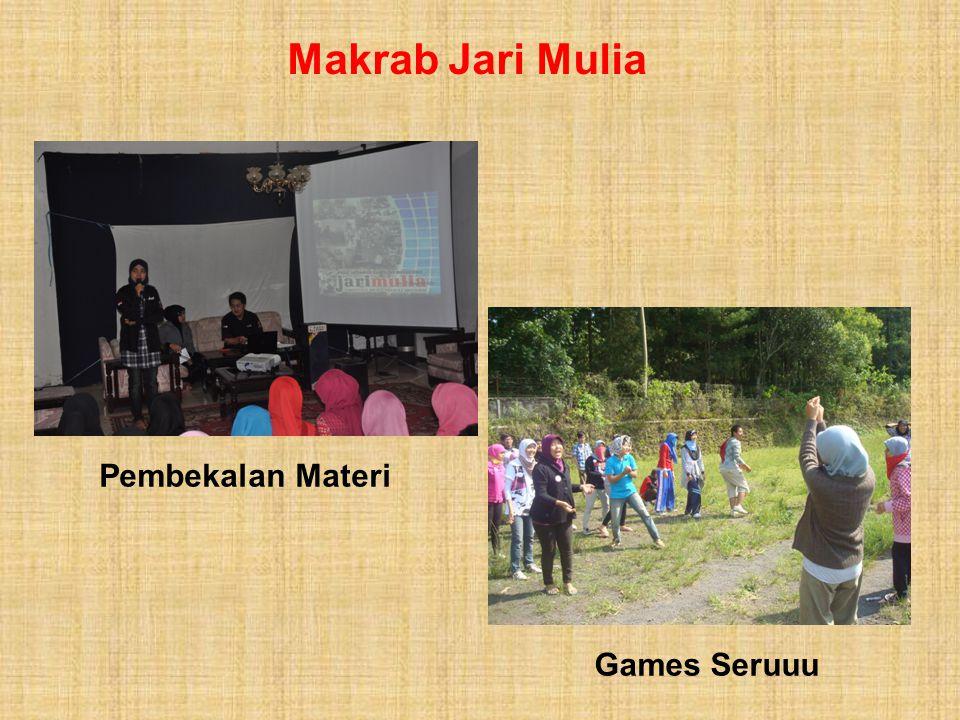 Makrab Jari Mulia Pembekalan Materi Games Seruuu