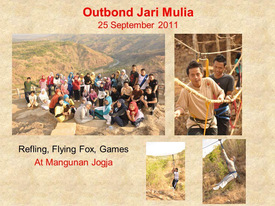 Outbond Jari Mulia 25 September 2011