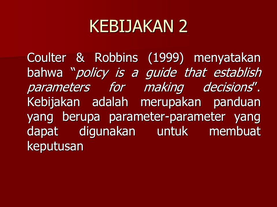 KEBIJAKAN 2
