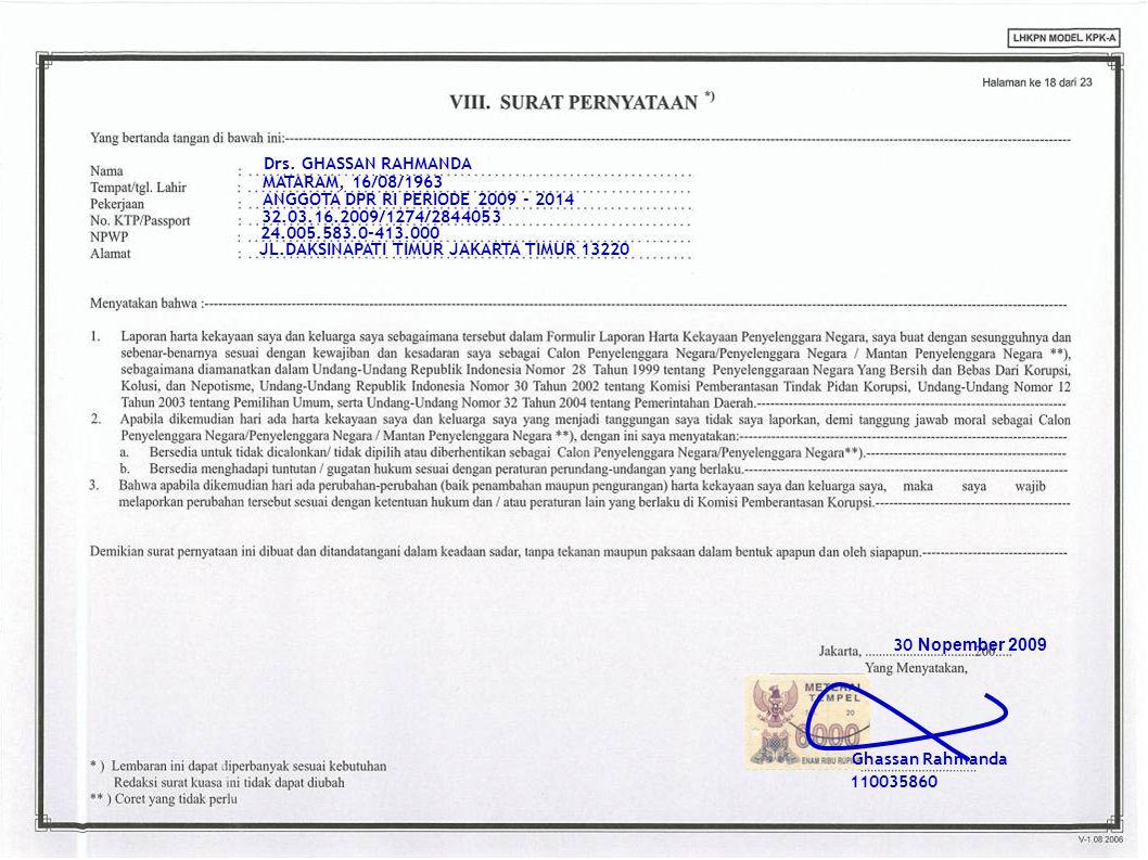 34 Drs. GHASSAN RAHMANDA MATARAM, 16/08/1963