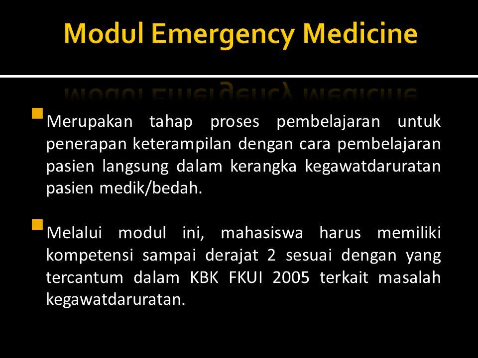 Modul Emergency Medicine