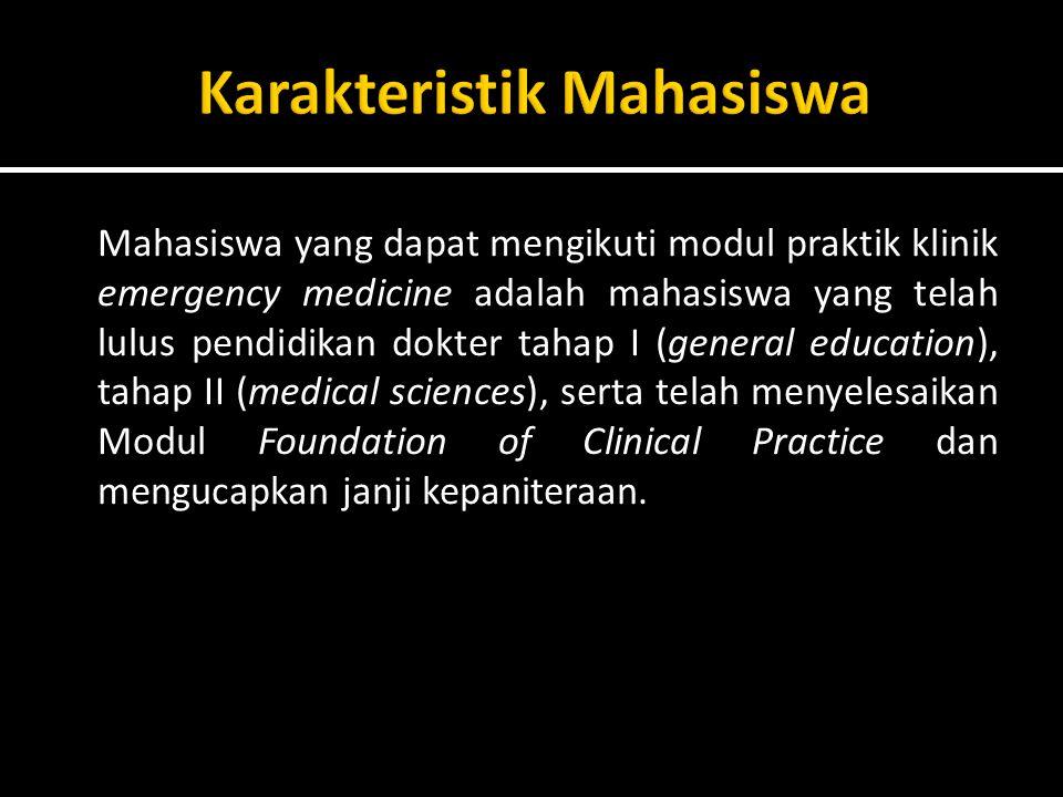 Karakteristik Mahasiswa