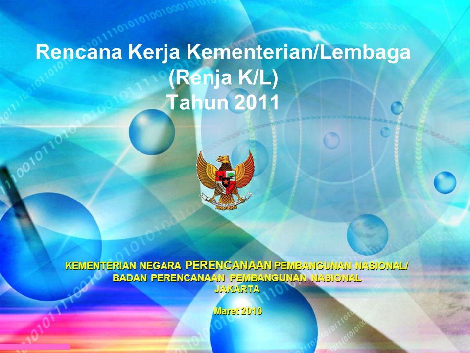 Rencana Kerja Kementerian/Lembaga (Renja K/L) Tahun 2011