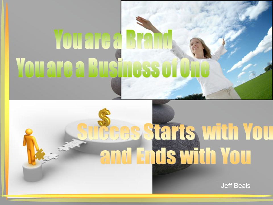 You are a Business of One