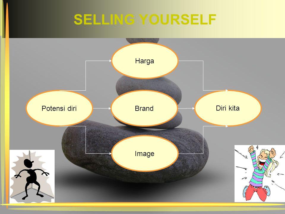 SELLING YOURSELF Potensi diri Harga Image Diri kita Brand